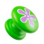 Green-Knob-with-Pink--Flower