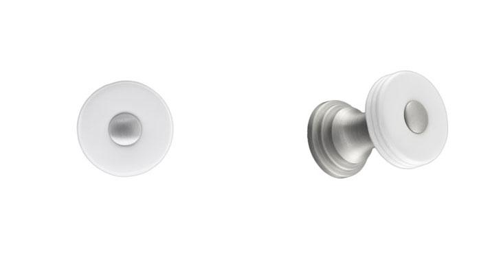 Perennial-1'-White-Ceramic-and-Satin-Nickel-Round-Knob