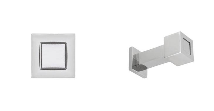 Rhombus-1'-Polished-Nickel-Cube-Coat-Hook